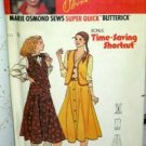 Misses' (10-12-14) Marie Osmond Vest and Skirt Butterick 6655