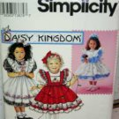 Child (5-6X) Dress 'Daisy Kingdom' USED Simplicity 0662