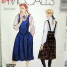 Misses' SZ CC (10/12/) USED Easy McCall's 3832 Jumper Patte