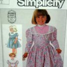 Girl Sz 5 Gunnie Sax Dress in 2 lengths USED Simplicity 7406
