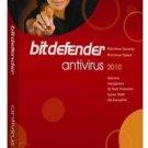 BitDefender AntiVirus Pro 2010 English Version 1year