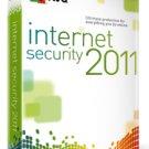 Avg Internet Security 2011 3'pcs 1 year
