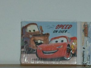 BRAND NEW DISNEY CARS PARTY INVITATIONS