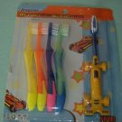 BRAND NEW DRAGSTER TOOTHBRUSHES WITH SOFT BRISTLES