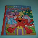 BRAND NEW SESAME STREET A SPECIAL SEASON COLORING & ACTIVITY BOOK