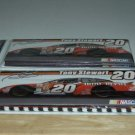 BRAND NEW TONY STEWART # 20 NASCAR NOTE CARDS