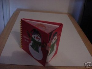 CUTE SNOWMAN HOLIDAY NOTES BOOK