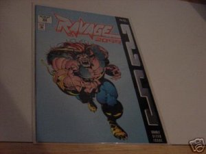 DOUBLE SIZED 25TH ISSUE RAVAGE 2099 COMIC