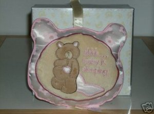BRAND NEW GUND BEAR  TALES COLLECTION MESSAGE PILLOW