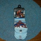 TWO PAIR SPIDERMAN 3   SOCKS SIZE ZERO TO TWELVE MONTHS