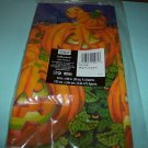 VERY COLORFUL BIG PUMPKIN TABLECOVER