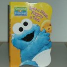 SESAME BEGINNINGS EYES NOSE FINGERS TOES KIDS BOOK
