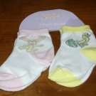 BRAND NEW TWO PAIR OF EASTER INFANT 18-24 MONTH SOCKS