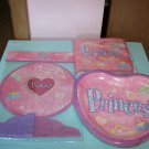 BRAND NEW PRINCESS BIRTHDAY CENTERPIECE PAPER PLATES & NAPKINS