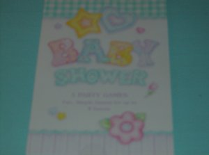 BRAND NEW BABY SHOWER 5 PARTY GAMES