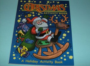 BRAND NEW CHRISTMAS ACTIVITY BOOK