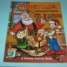 BRAND NEW CHRISTMAS ACTIVITY BOOK WITH SANTA AND ELF