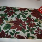 BRAND NEW PRETTY CHRISTMAS FLOWERS ON 4 TAPESTRY PLACEMATS