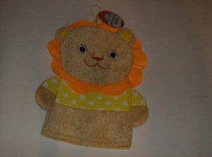 BRAND NEW CUTE LION BATH PUPPET