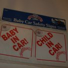BRAND NEW BABY KING BABY CAR SAFETY SIGNS
