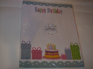 BRAND NEW COLORFUL HAPPY BIRTHDAY 40 SHEET COMPUTER PAPER
