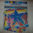 BRAND NEW COLORFUL  HAPPY BIRTHDAY 7 FT BANNER