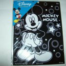 BRAND NEW MICKEY MOUSE FUZZY ARTBOARD WITH ARTBOARD MARKERS