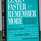 """Book - """"Learn Faster & Remember More"""""""