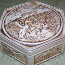 """Avon - Ceramic Jewelry Box - """"Ducks"""""""