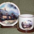 Thomas Kinkade - Decorative Cup & Saucer Set