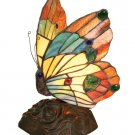 Handcrafted Butterfly Tiffany Style Night Lamp