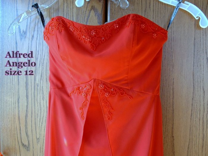 New Alfred Angelo Long Formal Prom Dress