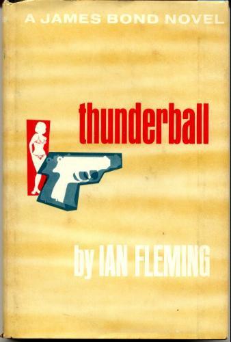 Thunderball Ian Flemming Vintage Hardcover