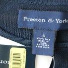 Preston York Silk Knit Shirt NWT