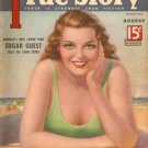 True Story MagaIne August 1936