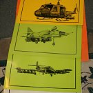 Aircraft Prints- Honeywell 5 Large Prints - Rare - FAE