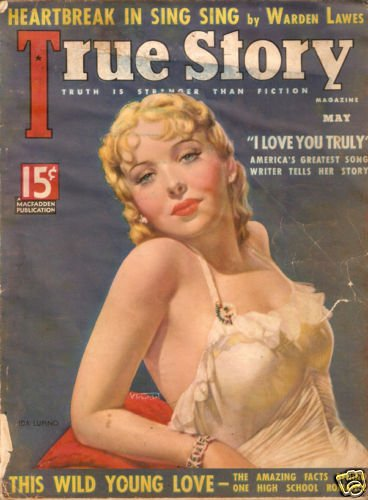 True Story Magazine May 1936  Sexy Cover