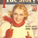 True Story Magazine Feb 1936  Major Bowes