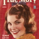 True Story Magazine April 1939 Doris Mae Myers VGC
