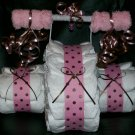 Tricycle Diaper Cake Girl Baby Shwoer Centerpiece Polka Dot
