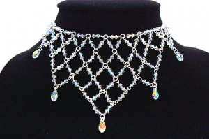 Handmade Swarovoski Crystal Beads Necklace (Princess)