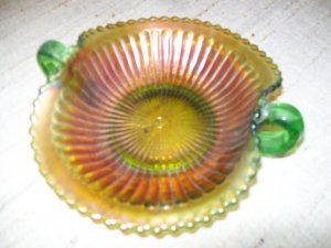 Antique Carnival Glass Dish-Northwood