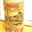 Coors Beer Holiday Stein 1988-Brewery Site 1873