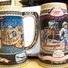 Miller Beer Holiday Stein 1990-1st Man on Moon
