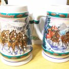 Budweiser Beer Holiday Stein 1993-Special Delivery