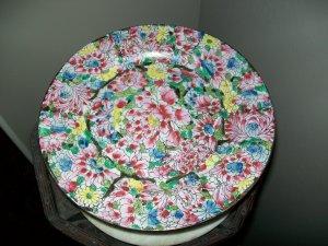 Quianlong Floral Plate