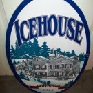 Icehouse Plank Road Brewery Metal Sign