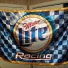 Miller Lite Silk Racing Banner