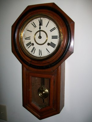 Schoolhouse Wall Clock