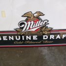 Miller Genuine Draft Metal Advertising Sign